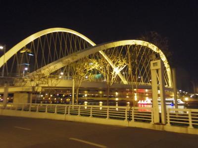 大沽桥ライトアップ